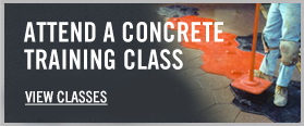 Decorative Concrete Training