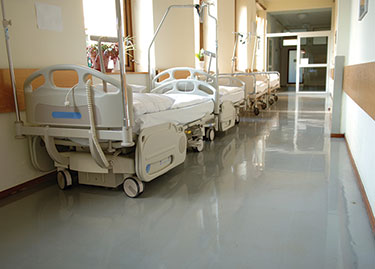 hospital floor coating