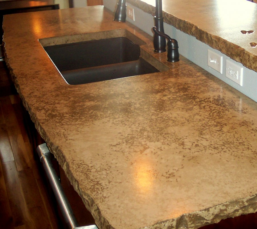 Countertop Mix : Concrete Countertops Design and Concrete Restoration Products