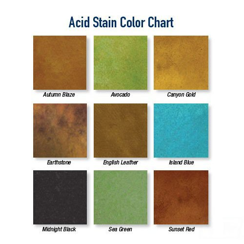 Concrete Stains & Dyes | Concrete Solutions Decorative Concrete Products